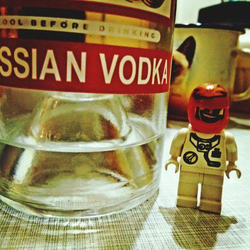 LEGO Vodka Astronaut Stolychnaya