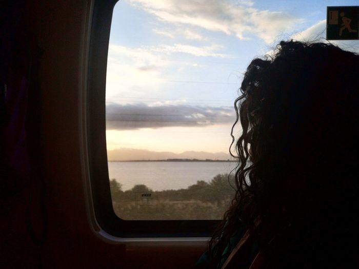 Train Portrait