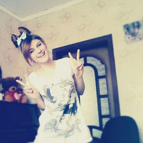 Russia Россия Russian Girl бантик прическа Hairstyle Retrica