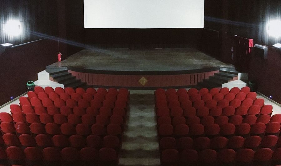 Theater Movie time EyeEm Masterclass EyeEm gallery EyeEm Best Shots cinema The Week Theater Movie Time EyeEm Masterclass EyeEm Gallery EyeEm Best Shots Cinema Indoors  No People Red Seat Illuminated Day