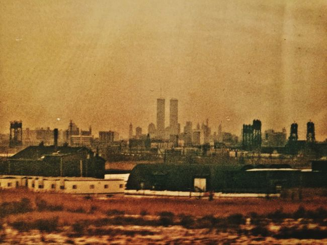 City Architecture Building Exterior Cityscape No People Built Structure Urban Skyline Outdoors Skyscraper Day Twin Towers 1995 Before The Bomb