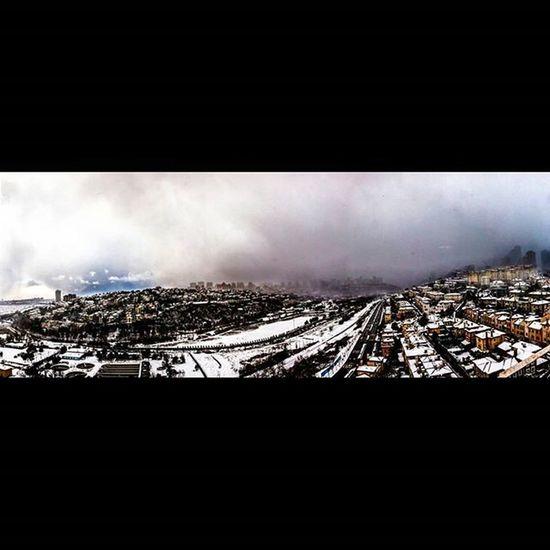 Landscape Panaromic Canon Canonphotography Winter Snow Bahcesehirgolet Bahcesehir Photooftheday Benimkadrajım Objektifimdenyansiyanlar Istanbuldayasam Istanbul Aniyakala