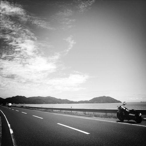 again day Blackandwhite Monochrome Streetphoto_bw Motorcycles
