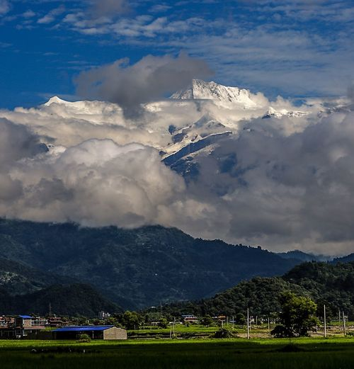 鱼尾峰 Cloud - Sky