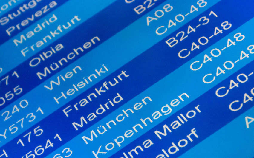 Arrival Departure Board City Gate Gates Names Schedule Sign Timetable Airlines Airport Blue Close-up Communication Connection Data Digital Display Electronics Industry Flying Indoors  Non-western Script Number Script Technology Terminal Text Tranportation