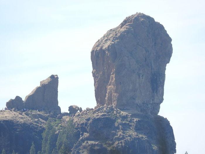 El rey de los roques - El Roque Nublo en la cumbre de Tejeda. Beauty In Nature Idyllic Majestic Mountain Nature Outdoors Remote Rock - Object Rock Formation Rocky Mountains Scenics Sky Tranquil Scene Tranquility Travel Destinations