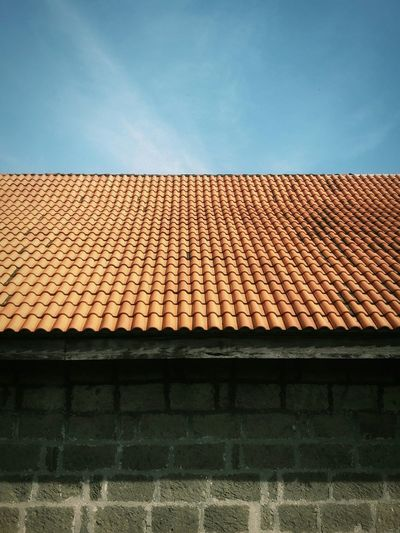 Roof Tile Architecture Outdoors Sky No People Day Eyeem Philippines The Week On EyeEm Pattern Perspective Urban City
