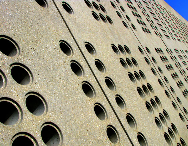 City Abstract Architecture Building Exterior Close-up Concrete Day Full Frame Geometric Shape Geometry Hole No People Outdoors Pattern Repetition The Graphic City