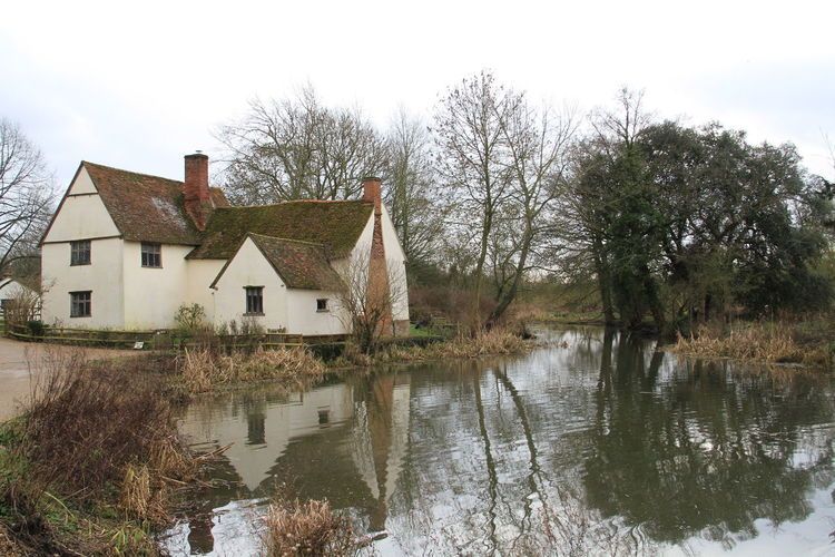 Flatford Mill John Constable Scenics Willy Lotts House Landscapes With WhiteWall Landscape_photography