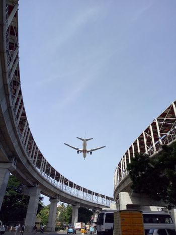 Street Photography Infrastructure flight flying on the time bus car crossing Taking Photos Relaxing Alandur Chennai