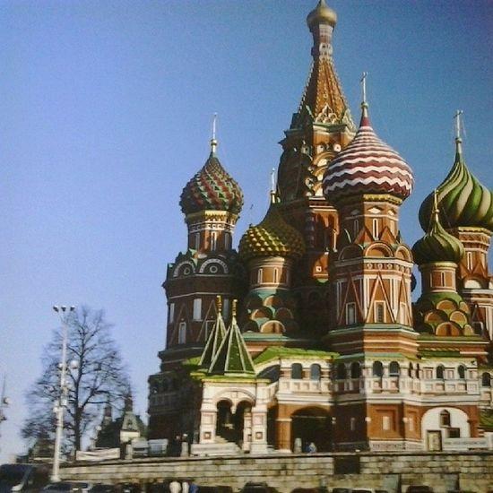 Сфоткала с картины с: Я хочу в центр москвы :3