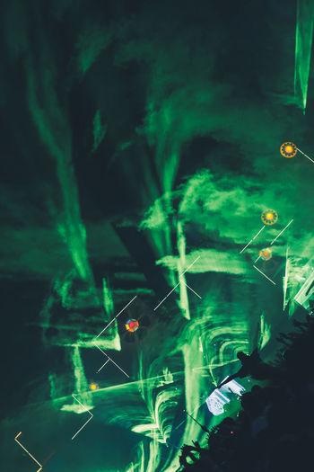 Festival season Concert Dark Festival Green Color Laser Lasershow Mainstage Night Nightlife Party Performing Arts Event Popular Music Concert Smoke - Physical Structure