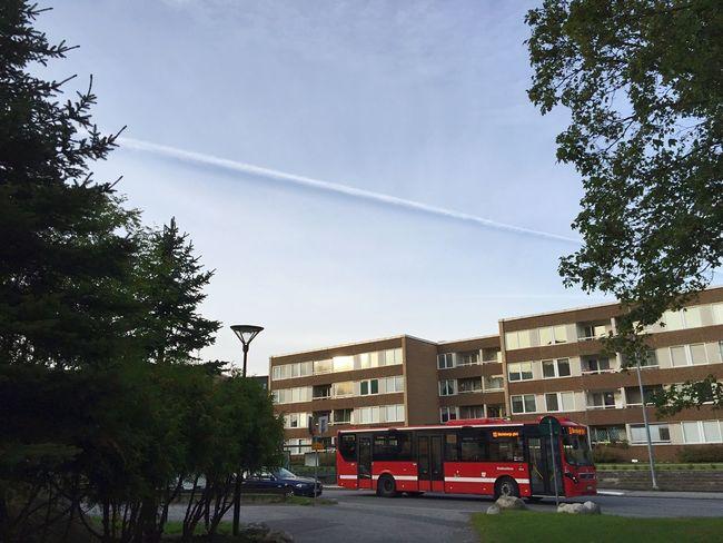 Boarder in the Sky | Huvudsta Solna Solnedgång Sunset Skyporn