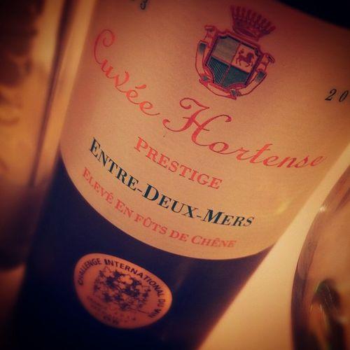 I ❤️ Entre Deux Mers! Hortense. Wino Whitewine Instawine Winolife Blanc Bordeaux