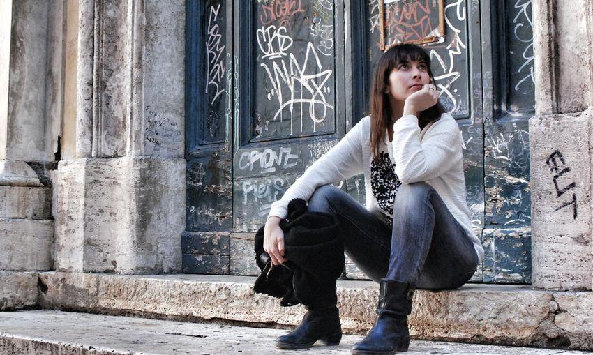 Rome Young Woman Streetart Streetphotography First Eyeem Photo Women Of EyeEm Women Who Inspire You