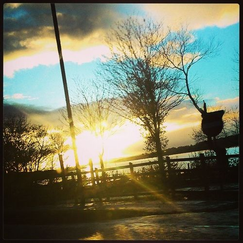 Love these crispy cold evenings <3 Cold Autumnwinter Lovely Derry Foyle seeyousunday