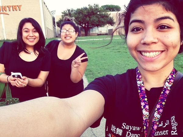 Today After Dance Rehersals(:
