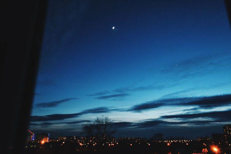 Evening Sky 🌃