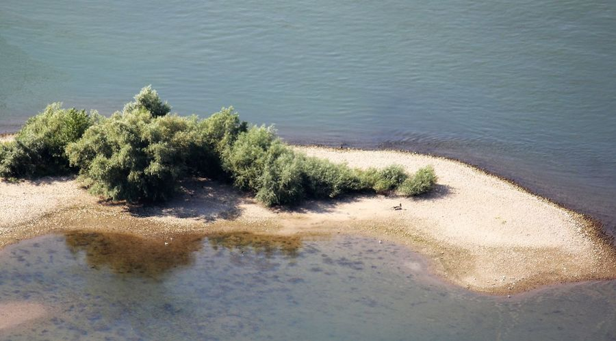 River Bank River Bank And Reflection In Water Beach Beauty In Nature Day High Angle View Lake Nature No People Outdoors Plant River Bank  River Bank View Scenics Tranquil Scene Tranquility Tree Water