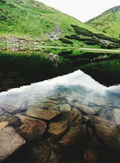 Mountain #carpathians #carpathiansmountains Mountain Lake #nesamovyte Water Lake Reflection Sky Mountain Range