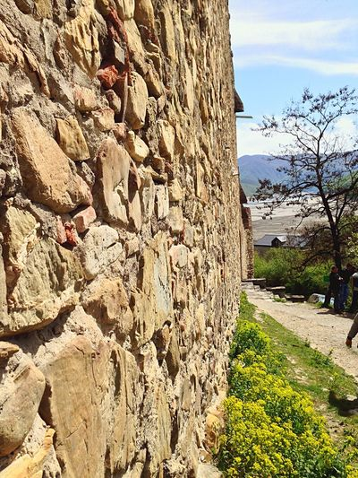 Ancient walls of Ananuri. Ancient Ancient Architecture Ancient Wall Wall Outdoors Georgia Ananuri Culture Georgian Architecture Traveling Castle