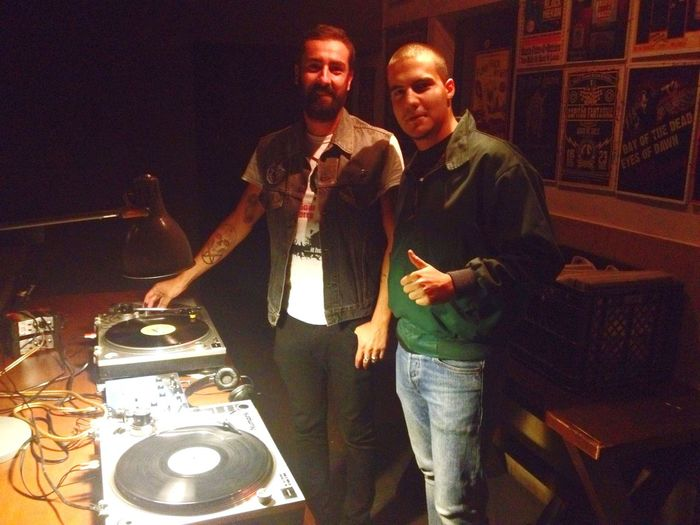 David e Roque no Bar Bafo De Baco Vinyl Only Vinyl Vinil Only Vintage Loule