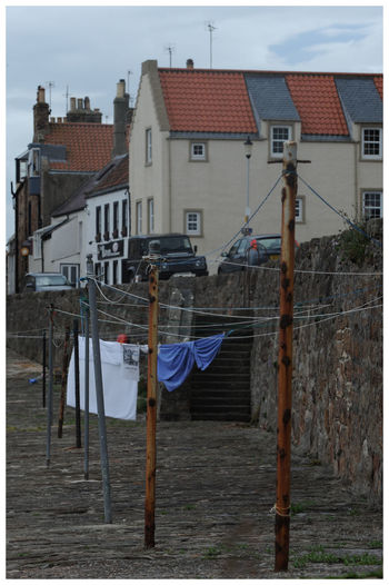 Building Exterior Architecture Built Structure Outdoors Drying Pittenweem Fife  harbour