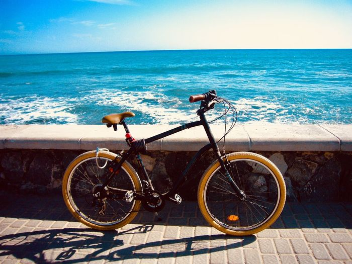 Close-up Horizon Over Water Beauty In Nature Ocean Meer Fahrrad No People Bycicle EyeEmNewHere My Best Photo