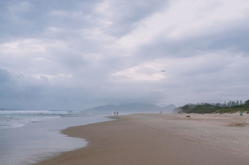 Beach Beauty In Nature Brazil Cloud Cloud - Sky Day Florianópolis Horizon Over Water Nature No People Outdoors Sand Scenics Sea Sky Tranquil Scene Tranquility Water