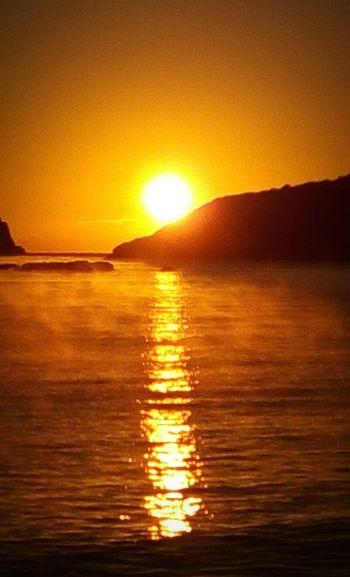 Water Sunset Beach Sun Gold Colored Sunlight Yellow Reflection Summer First Eyeem Photo