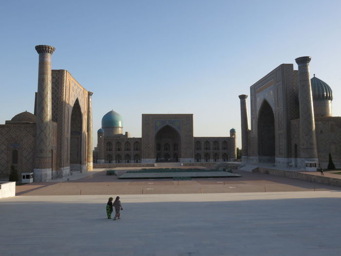 Architecture City Historical Building Monument Samarkand Sunrise Sunrise_sunsets_aroundworld Travel Destinations Two Is Better Than One