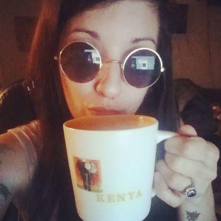Dat Matcha Green tea doe. Retro Hottea Greentea Selfie ✌