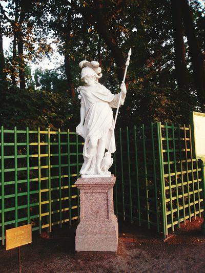 Saint Petersburg Skulptur Menerva