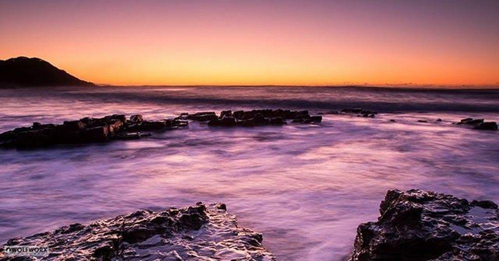 Sea Ocean Rocks Landscape Seascape Waves Surf Dawn Sunrise Sky Foam Seaspray Cityofeastlondon Pentax Wolfworx Scenery Scenic Morning