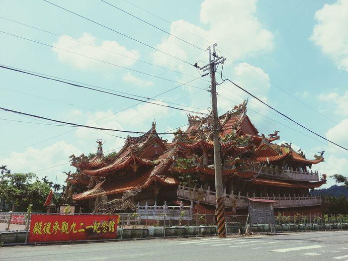 921時震倒的武昌宮