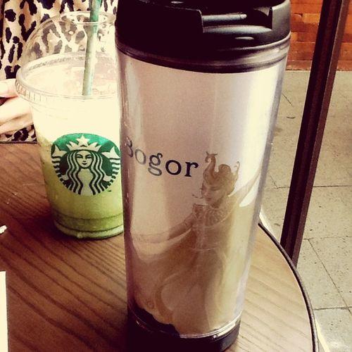 Party Time! Tumblerday Starbucks Greentealatte