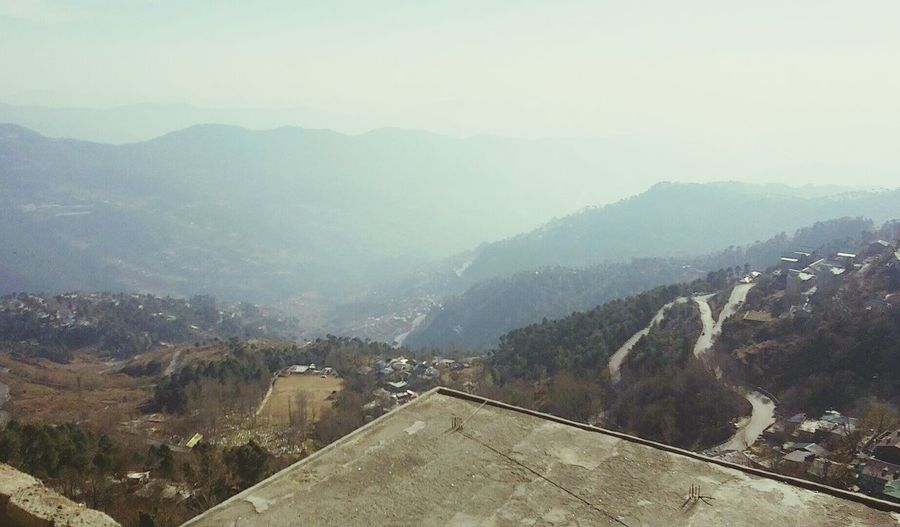 Scenery Shots Outdoors Mountain Mountain Range Travel Destinations Nature Landscape Fog Forest Pakistani Traveller Murree ❤️ Hills And Valleys Social Issues Tree Cloud - Sky No People Scenics Beauty In Nature Sky Day Architecture City First Eyeem Photo