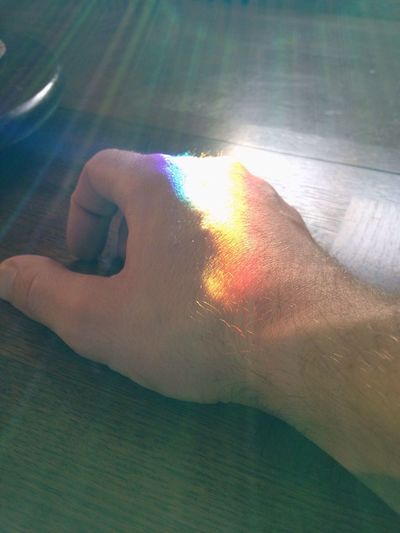 Hand Light Refraction No Filter Sunlight IPhoneography PhotosbyMLARS