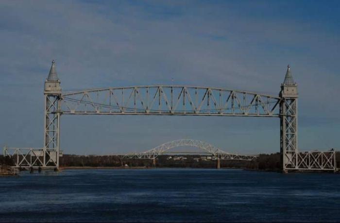 train bridge Massachusetts Cape Cod Buzzardsbay Train Bridge Cape Cod Canal Steel Built Structure Outdoors