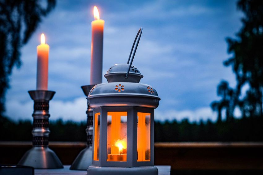 Those moments outside 🍷 Copy Space Fire Burning Flame Candle Illuminated Fire - Natural Phenomenon Focus On Foreground Architecture Candlestick Holder Close-up Lantern Lighting Equipment No People Heat - Temperature Outdoors Nature Built Structure Dusk Table Glowing