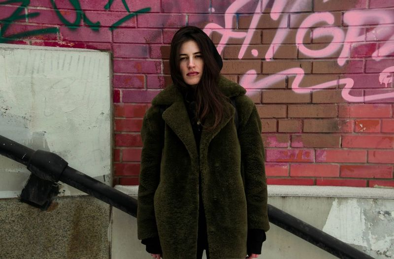 Looking At Camera Portrait Standing Warm Clothing Real People Downtown District Fashion Winter Cold Temperature Urban Style Moscow City Moscow Life Russia City Life Urban Fashion Urbanphotography Urban Lifestyle Beautiful Woman Day Long Sleeved Long Hair Looking At Camera Hood - Clothing
