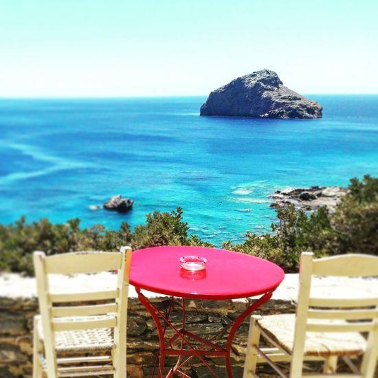 First Eyeem Photo Amorgos Greece Bigblue Greek Islands Summer Sun Sea Sky Rock