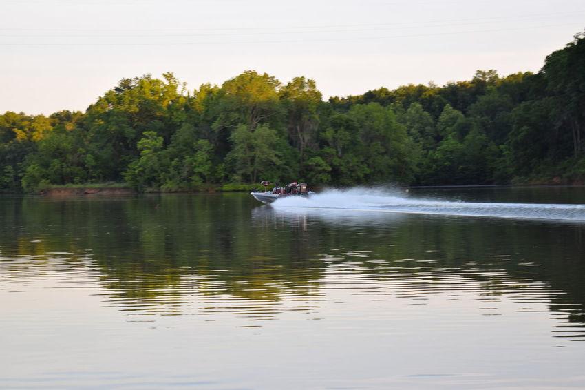 Alabama Alabama River Beauty In Nature Boats⛵️ Fast Lake Water Waterfront Alabama River At Catoma Creek Water Reflections Alabama Fishing Alabama Outdoors