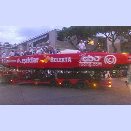Gara Offshore Terracina Granprix sea motor