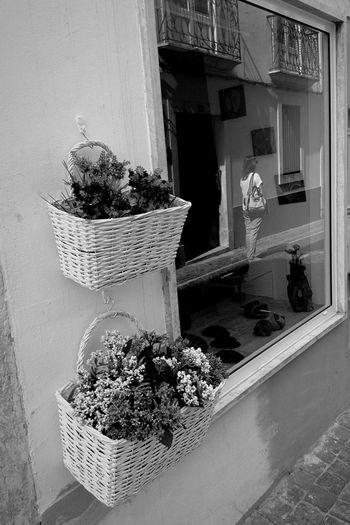 Flores Sunny Afternoon Urban Reflections Old Town Streetphoto_bw Blackandwhite Photography Reflection Urbanphotography Streetphotography