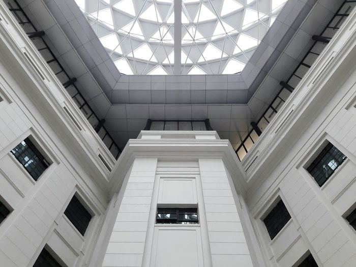 Architecture Indoors  Ceiling Built Structure No People Dome Modern