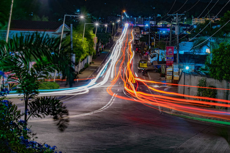 Narrow pulse. Long Exposure Light Trail City Colours Street Photography Longexposurephotography Check This Out Hello World Landscape_photography Illuminated Nightphotography Night Speed Eyem Philippines Tagbilarancity Bohol Philippines Nature