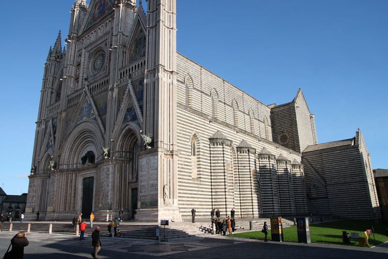 Orvieto, Italy Travel Travel Photography Traveling Architecture Building Exterior Built Structure City Clear Sky Day History Italian Italy Large Group Of People Men Orvieto Outdoors People Real People Sky Travel Destinations Women