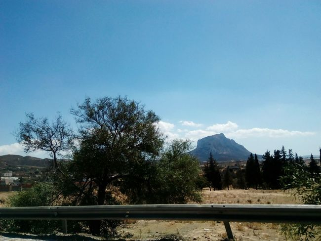 Djebel On The Road Moutains Sur La Route Nature No People Eyeem Tunisia