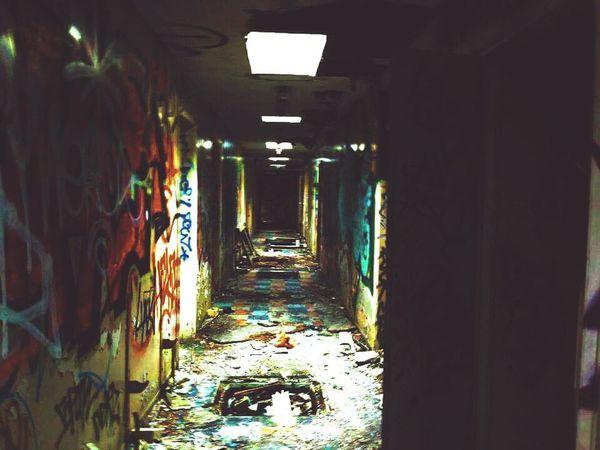 Asylum Hallway Abandoned Abandoned Buildings Abandoned Asylum Creepy Hallway Creepy Place Creepy Atmoshpere Broken Broken Buildings Broken Floor Destroyed Destroyed Buildings Q Mysterious Exploring Trip Urban Urban Exploration Urbanphotography St Augustine Chartham Leading Lines Urbex Horror